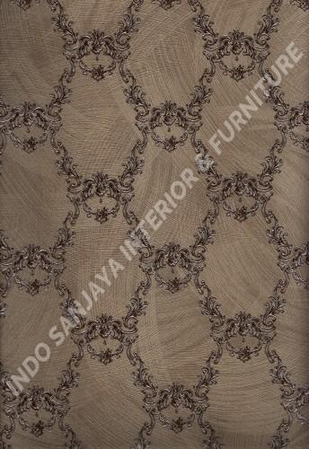 wallpaper   Wallpaper Klasik Batik (Damask) 2145-5:2145-5 corak  warna