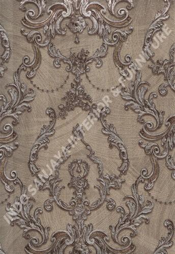 wallpaper   Wallpaper Klasik Batik (Damask) 2146-5:2146-5 corak  warna