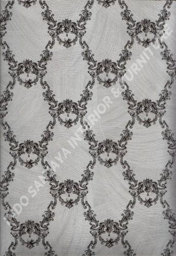 wallpaper   Wallpaper Klasik Batik (Damask) 2145-4:2145-4 corak  warna