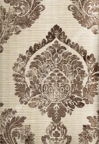 wallpaper   Wallpaper Klasik Batik (Damask) 8271-5:8271-5 corak  warna
