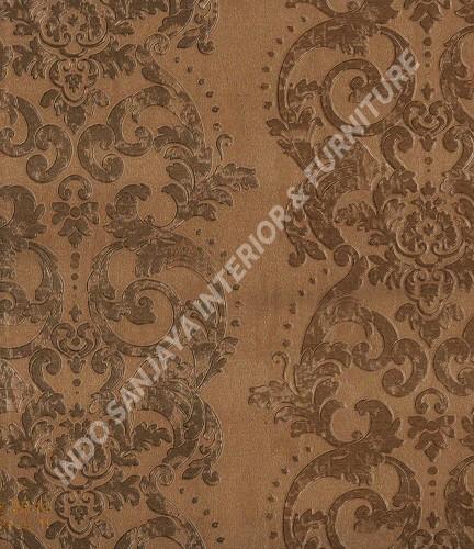 wallpaper   Wallpaper Klasik Batik (Damask) B-2511:B-2511 corak  warna