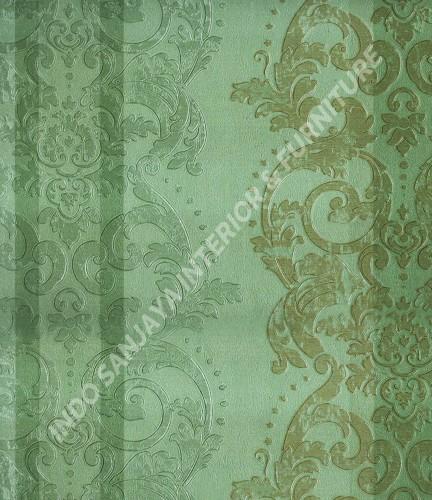 wallpaper   Wallpaper Klasik Batik (Damask) B-2513:B-2513 corak  warna