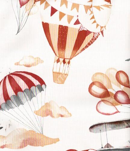 wallpaper Play-House:PH-47 corak Anak warna Putih