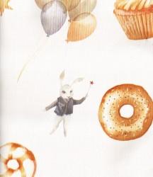 wallpaper Play-House:PH-50 corak Anak warna Putih