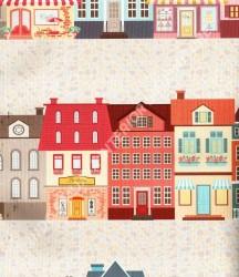wallpaper Play-House:PH-61 corak Anak warna Biru