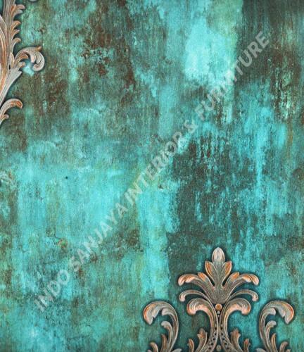 wallpaper   Wallpaper Klasik Batik (Damask) YS-980508:YS-980508 corak  warna