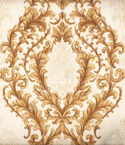 wallpaper TRENZONE:YS-981505 corak Klasik / Batik (Damask) warna Putih