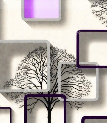 wallpaper TRENZONE:YS-8131 corak warna