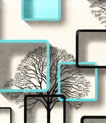 wallpaper TRENZONE:YS-8133 corak warna