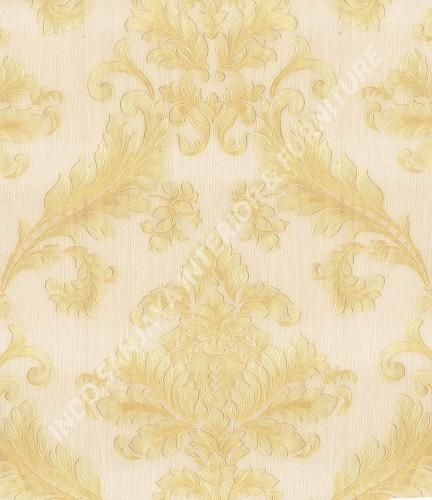 wallpaper   Wallpaper Klasik Batik (Damask) 360002:360002 corak  warna
