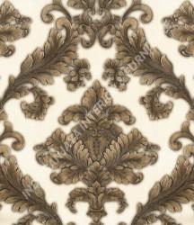 wallpaper Celio:360003 corak Klasik / Batik (Damask) warna Cream