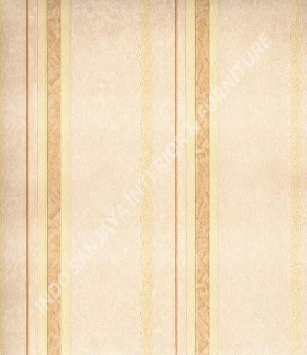 wallpaper Celio:360201 corak Klasik / Batik (Damask) warna Cream