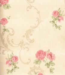 wallpaper Celio:363405 corak Klasik / Batik (Damask) warna Cream