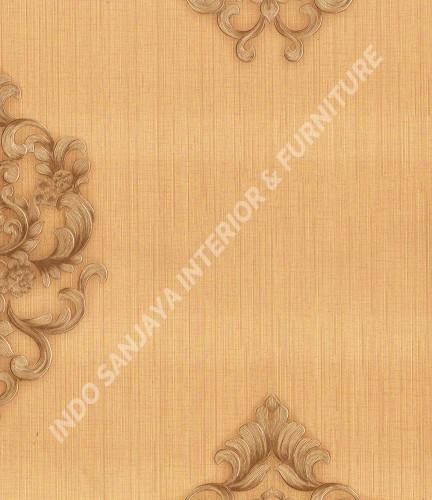 wallpaper Celio:363303 corak Klasik / Batik (Damask) warna Merah ,Biru