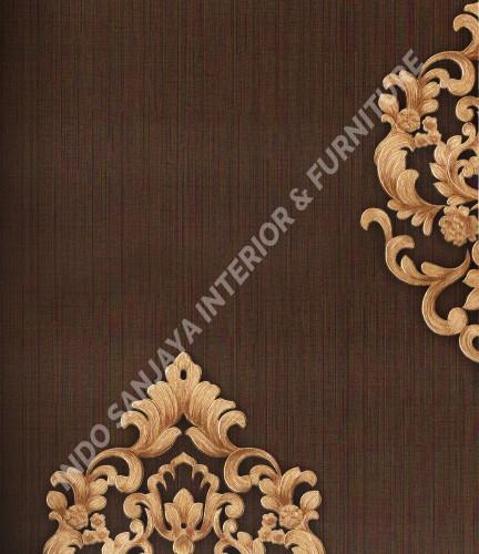 wallpaper Celio:363304 corak Klasik / Batik (Damask) warna Merah ,Biru