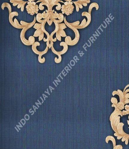 wallpaper Celio:363306 corak Klasik / Batik (Damask) warna Merah ,Biru