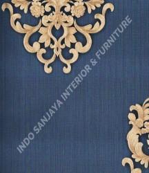 wallpaper Celio:363306 corak Klasik / Batik (Damask) warna Merah,Biru