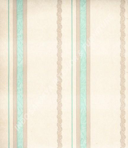 wallpaper Wallpaper Klasik Batik (Damask) 363709:363709 corak  warna