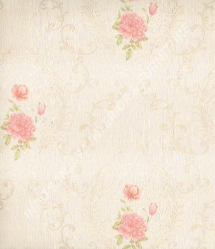 wallpaper Celio:361001 corak Klasik / Batik (Damask) warna Putih