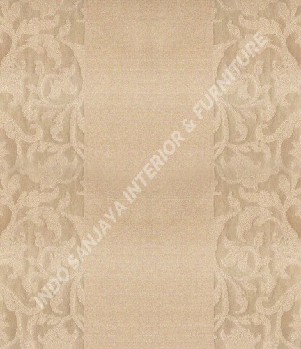 wallpaper Celio:362605 corak Klasik / Batik (Damask) warna Cream