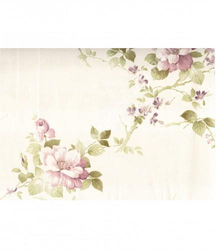 wallpaper MADONA:MD7333 corak Bunga ,Klasik / Batik (Damask) warna Cream