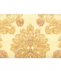 wallpaper MADONA:MD3592 corak Klasik / Batik (Damask) warna Cream
