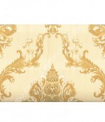 wallpaper MADONA:MD3501 corak Klasik / Batik (Damask) warna Cream
