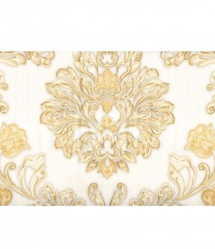 wallpaper MADONA:MD3590 corak Klasik / Batik (Damask) warna Cream