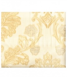 wallpaper MADONA:MD3591 corak Klasik / Batik (Damask) warna Cream