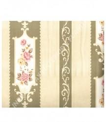 wallpaper MADONA:MD7364 corak Klasik / Batik (Damask) warna Cream
