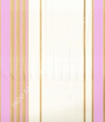 wallpaper MADONA:MD2904 corak Garis warna Putih,Biru,Pink
