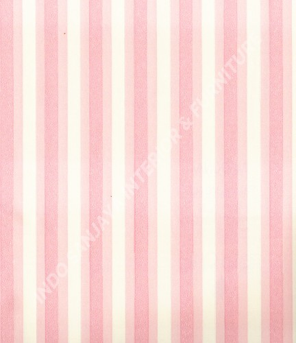 wallpaper Wallpaper Garis MD6072:MD6072 corak  warna
