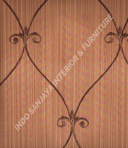 wallpaper Kansai:13-22155 corak Klasik / Batik (Damask) warna Abu-Abu