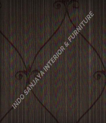 wallpaper Wallpaper Klasik Batik (Damask) 13-22157:13-22157 corak  warna