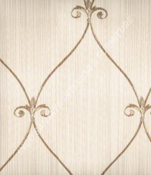 wallpaper Kansai:13-22153 corak Klasik / Batik (Damask) warna Abu-Abu
