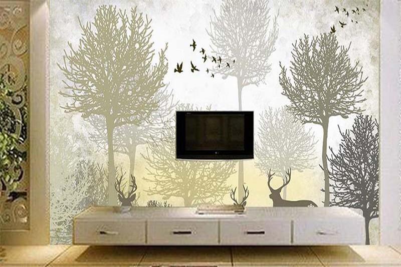 artikel 10 Step Mudah Pasang Interior Wallpaper Dinding