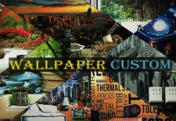 buku WALLPAPAER CUSTOM