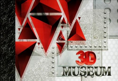 wallpaper buku 3D MUSEUM tahun 2018