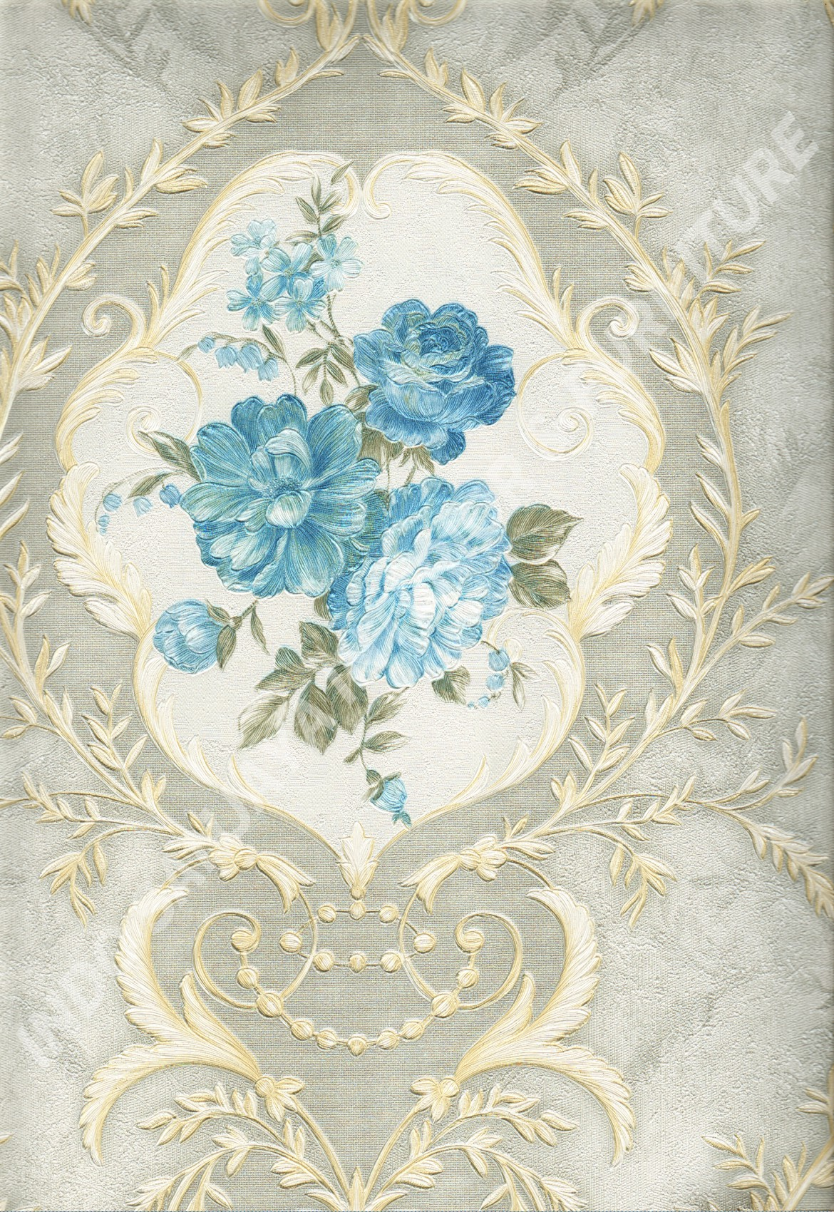 wallpaper   Wallpaper Bunga DL10502:DL10502 corak  warna