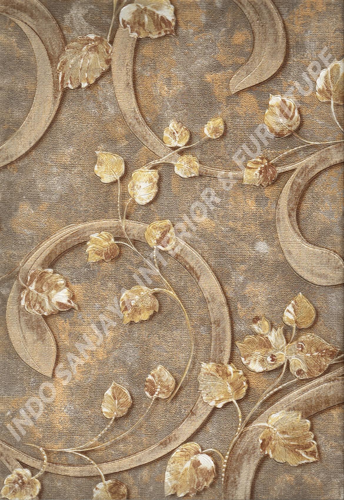 wallpaper   Wallpaper Klasik Batik (Damask) DL10404:DL10404 corak  warna