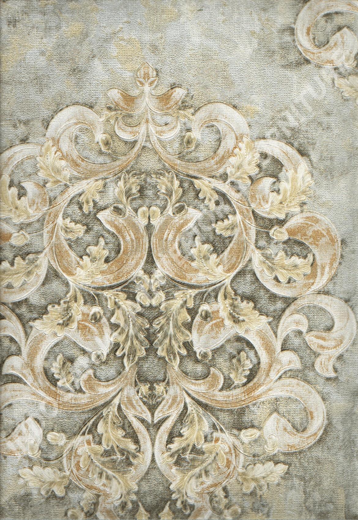 wallpaper   Wallpaper Klasik Batik (Damask) DL10303:DL10303 corak  warna