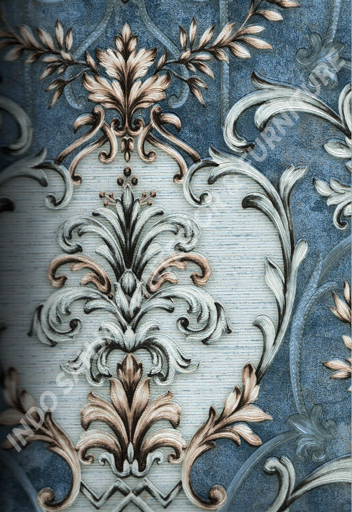 wallpaper   Wallpaper Klasik Batik (Damask) DL11006:DL11006 corak  warna