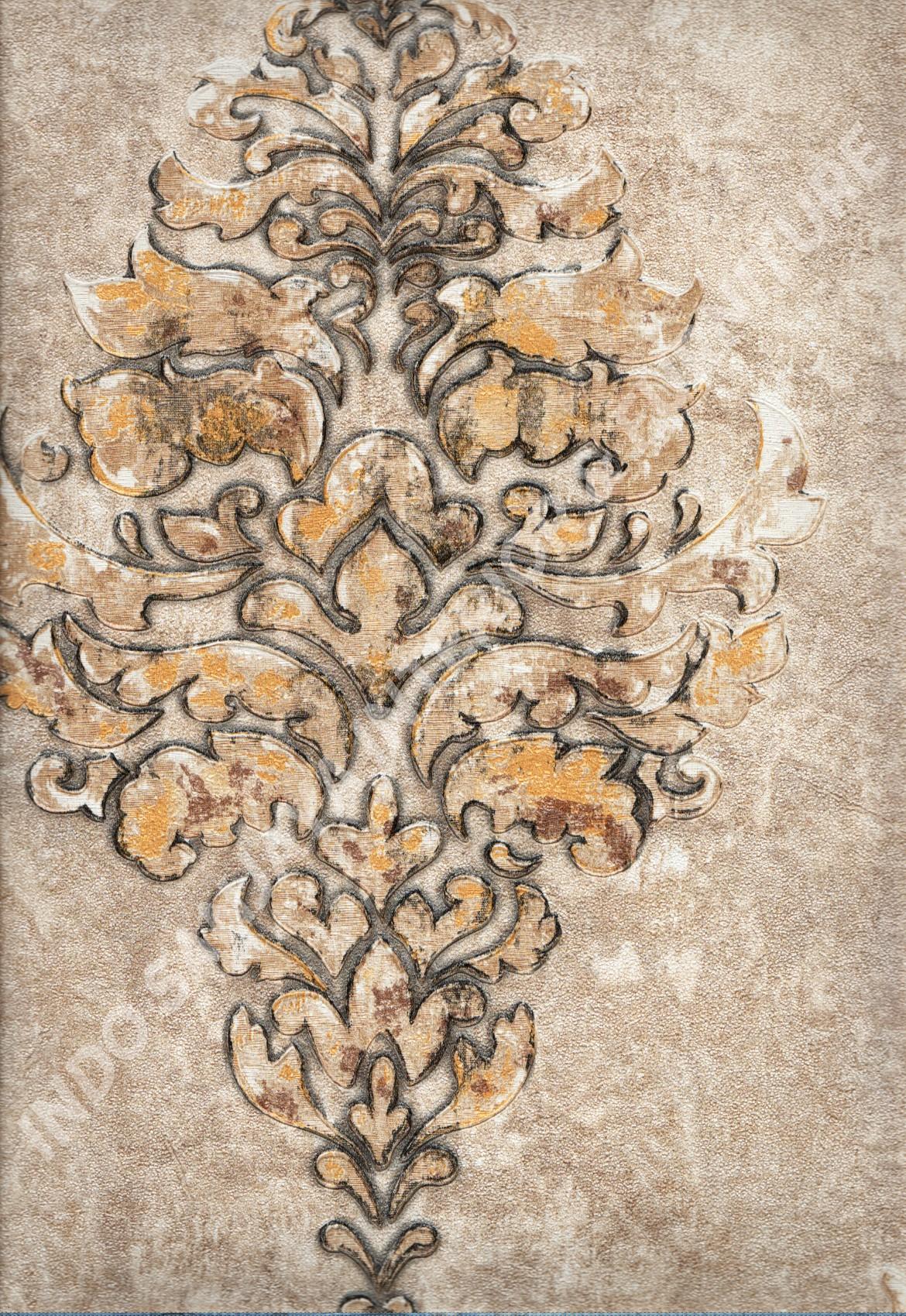 wallpaper   Wallpaper Klasik Batik (Damask) DL11302:DL11302 corak  warna