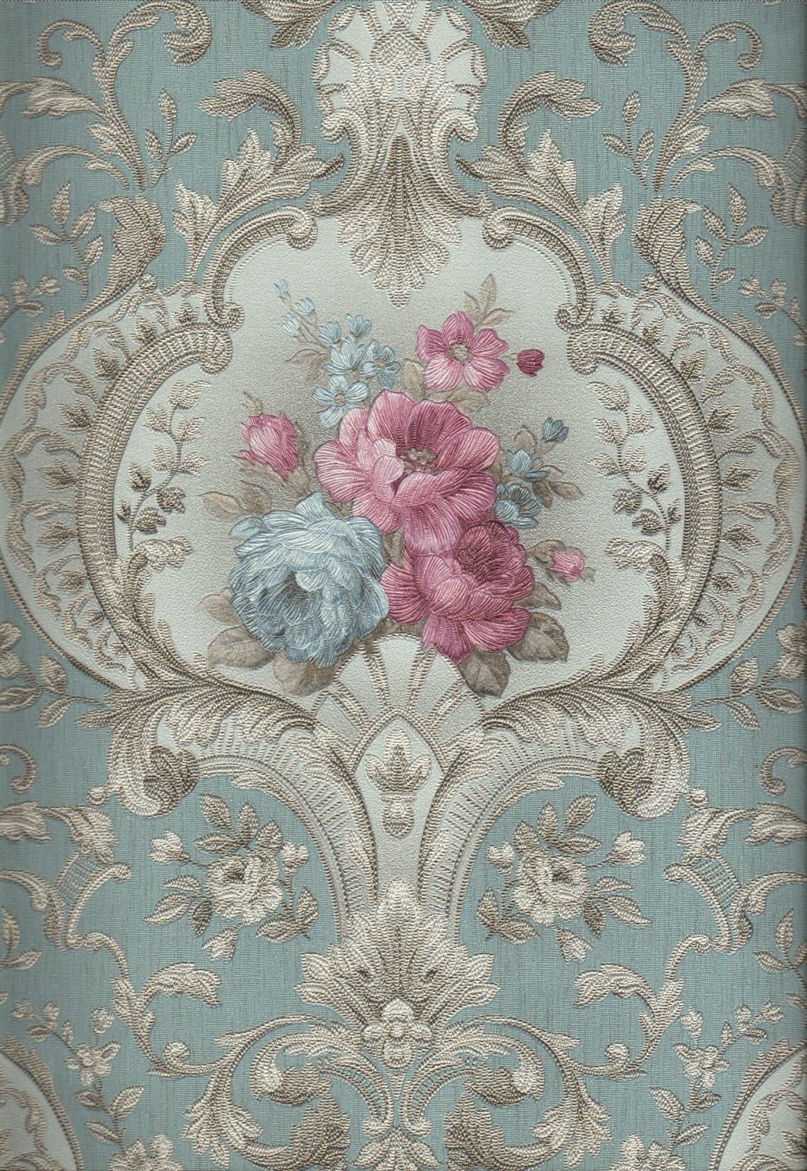wallpaper   Wallpaper Bunga 4003-4:4003-4 corak  warna