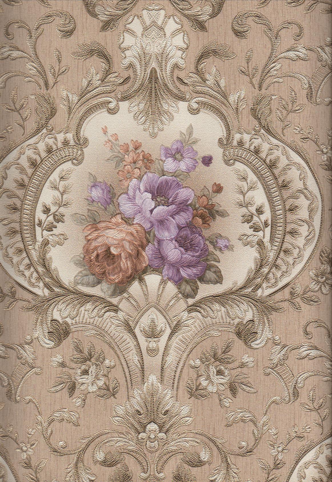 wallpaper   Wallpaper Bunga 4003-5:4003-5 corak  warna