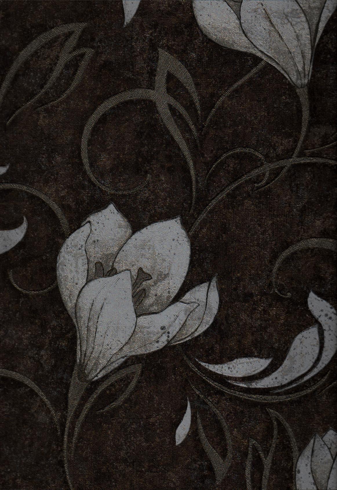 wallpaper   Wallpaper Bunga 4001-5:4001-5 corak  warna