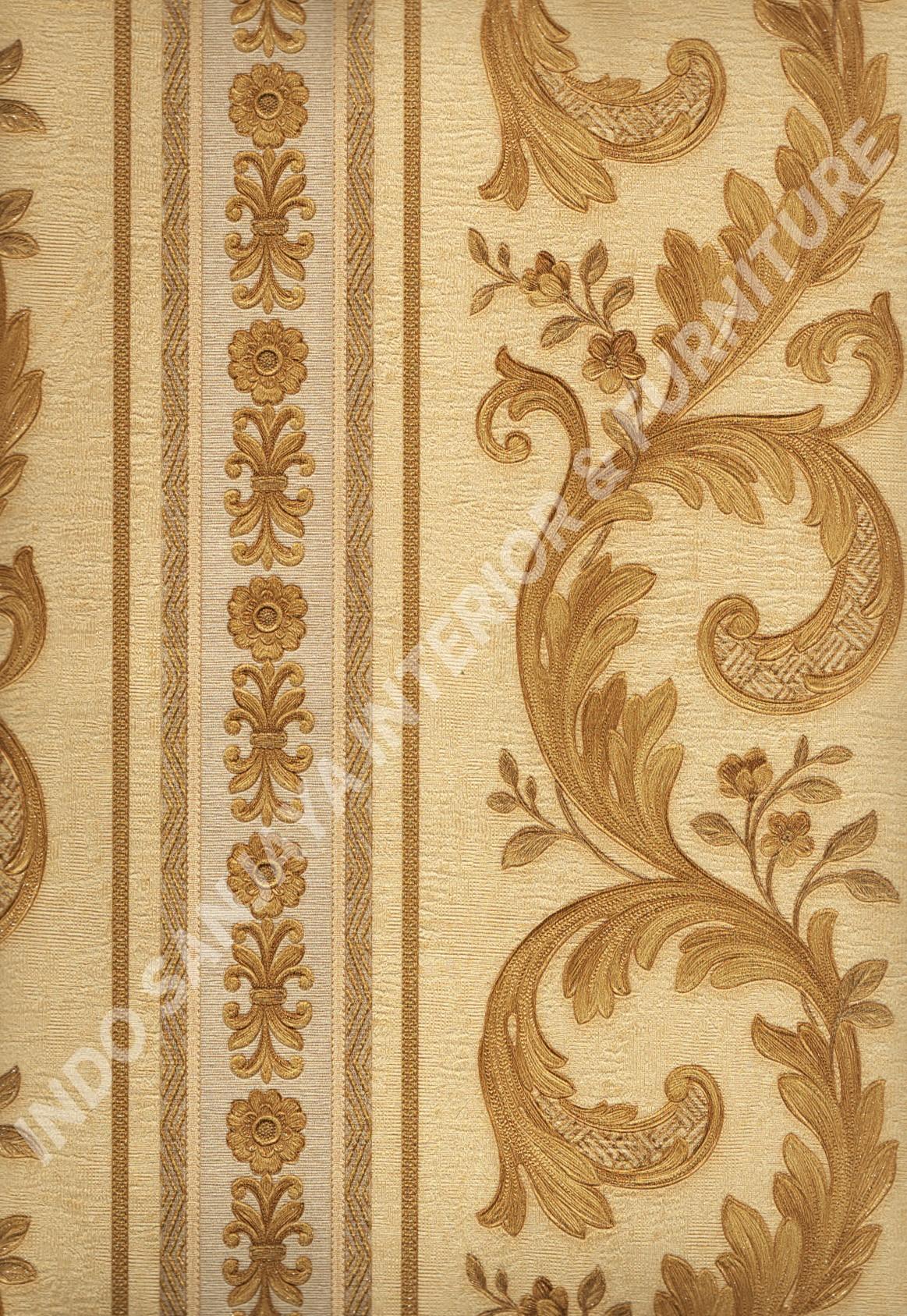 wallpaper   Wallpaper Klasik Batik (Damask) 51007-3:51007-3 corak  warna