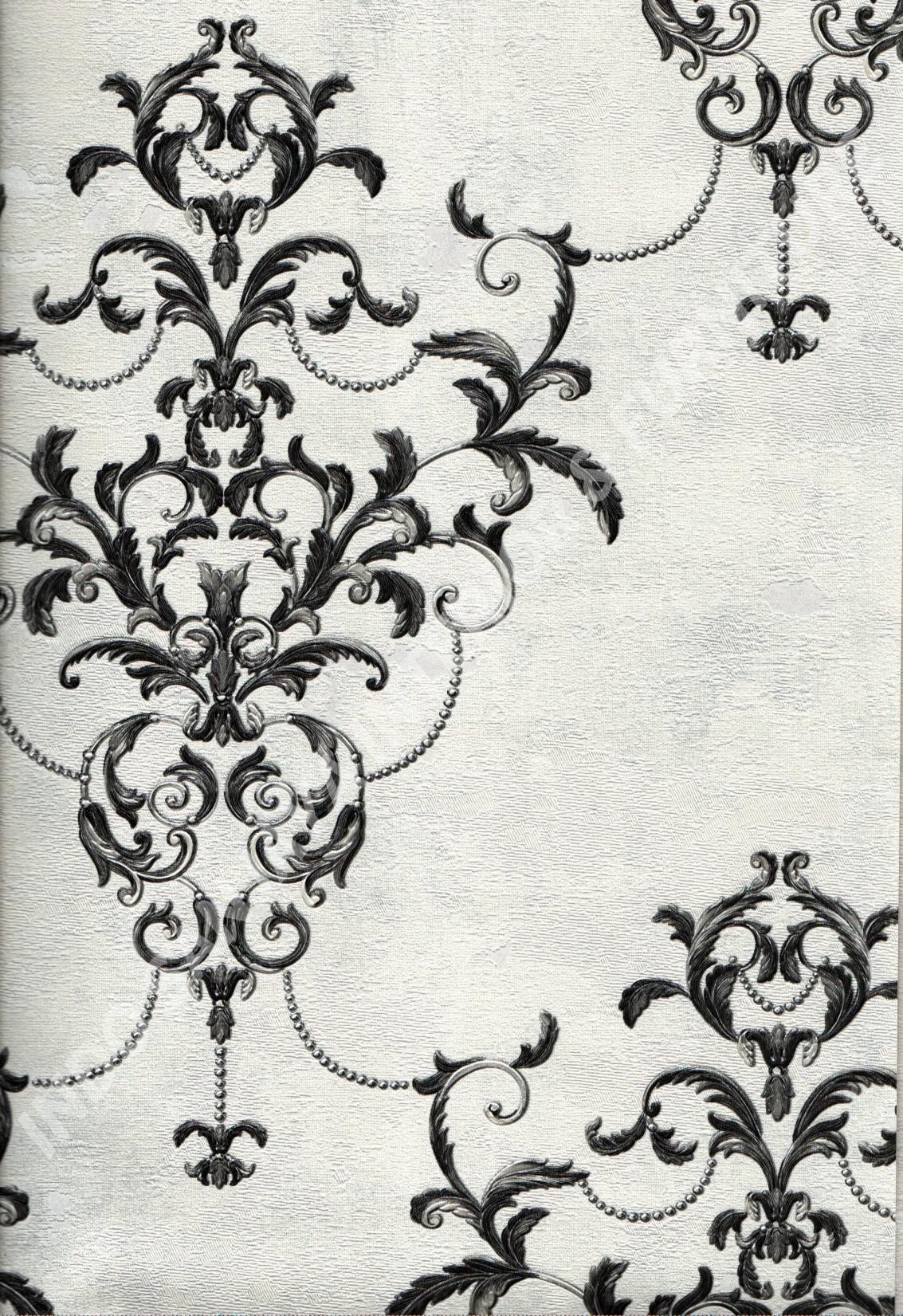 wallpaper   Wallpaper Klasik Batik (Damask) 5006-3:5006-3 corak  warna