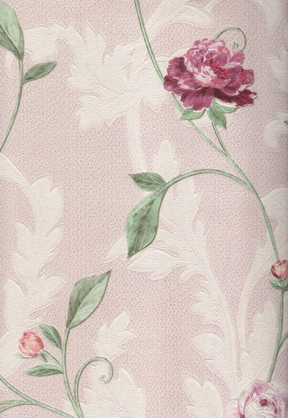 wallpaper   Wallpaper Bunga 5013-3:5013-3 corak  warna
