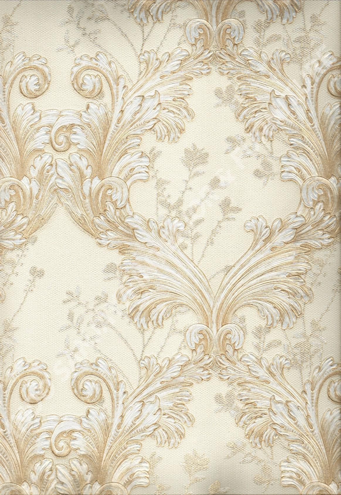wallpaper   Wallpaper Klasik Batik (Damask) 87022:87022 corak  warna
